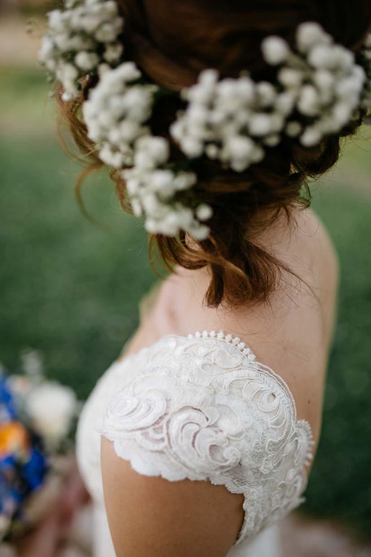 Detailaufnahme Braut