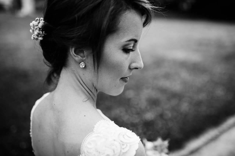 Detailaufnahme der Braut