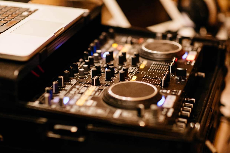 DJ-Musikpult
