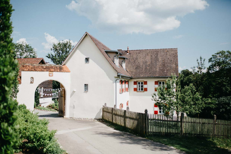 Hofgut Maisenburg von außen