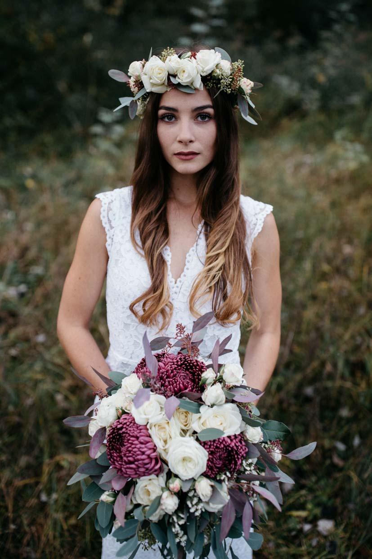 Einzelportrait Braut