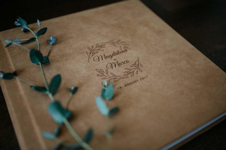 Hochzeitsalbum Detailansicht Cover