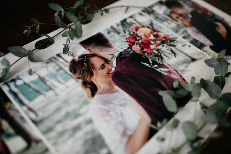 Hochzeitsalbum Detailansicht